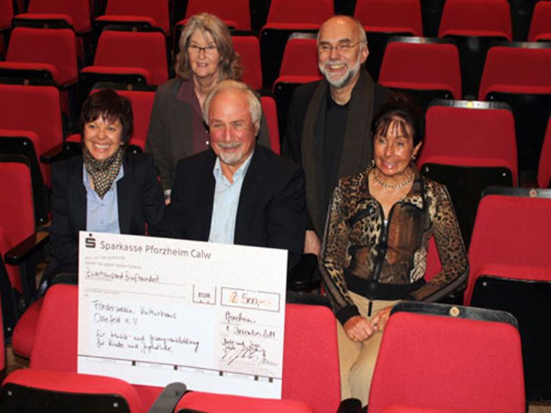 Spende der Dieter Jehle Stiftung