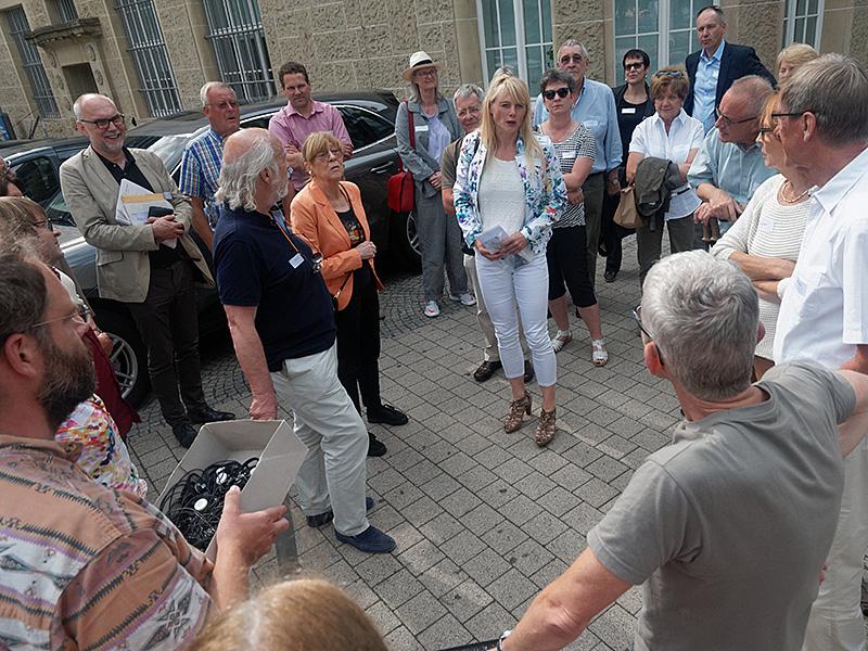 30. Kulturfahrt – Besichtigung der archäologischen Ausgrabungen auf dem Rathaushof in Pforzhein