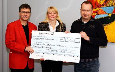 Spende der Inovan GmbH & Co. KG